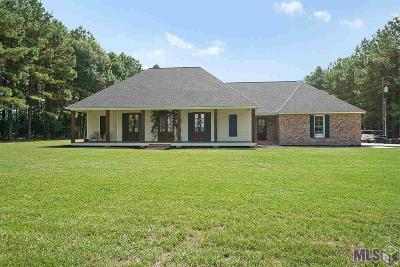Zachary Single Family Home For Sale: 596 E Irene Rd