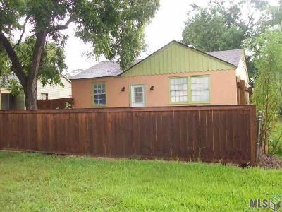 Baton Rouge LA Single Family Home For Sale: $55,000
