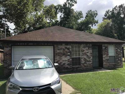 Baton Rouge LA Single Family Home For Sale: $90,000