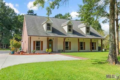 Denham Springs Single Family Home For Sale: 35119 Cane Market Rd