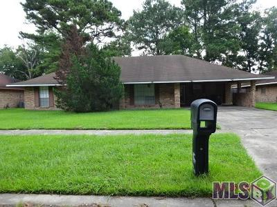 Baton Rouge LA Single Family Home For Sale: $116,000