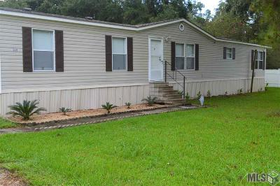 Gonzales Single Family Home For Sale: 12438 Forest Braud Ln