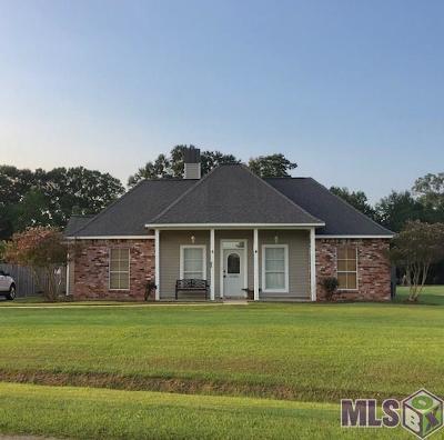 Denham Springs Single Family Home For Sale: 10183 Carter Hills Ave