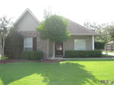 Gonzales Single Family Home For Sale: 11093 Garrett Dr