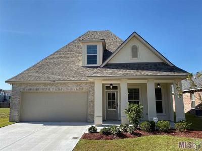 Gonzales Single Family Home For Sale: 14461 Sterling Oaks Dr