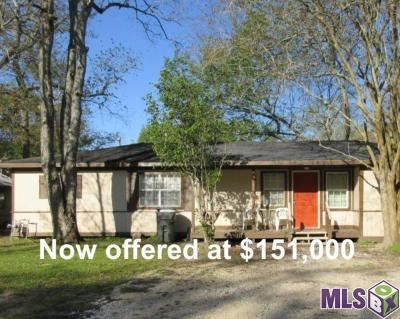Prairieville Single Family Home For Sale: 16391 Joe Sevario Rd