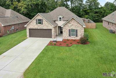 Denham Springs Single Family Home For Sale: 28535 Grand Turk Dr