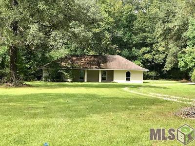 Denham Springs Single Family Home For Sale: 38213 Little Woods Dr