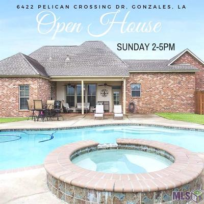 Gonzales Single Family Home For Sale: 6422 Pelican Crossing Dr