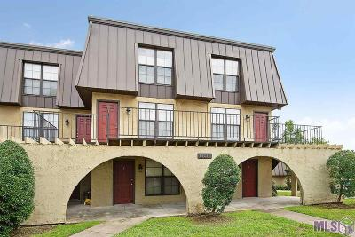 Baton Rouge Condo/Townhouse For Sale: 10290 W Winston Ave #14