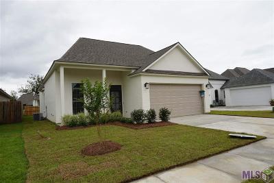 Geismar Single Family Home For Sale: 12107 Amsterdam Ave