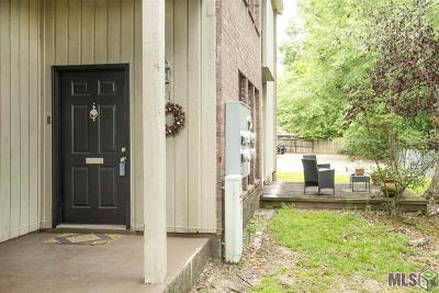 Baton Rouge Condo/Townhouse For Sale: 7744 Lasalle Ave #31
