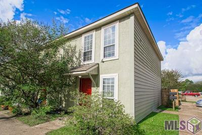 Baton Rouge LA Condo/Townhouse For Sale: $75,000