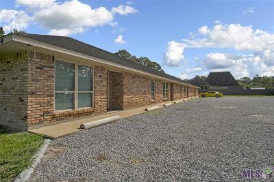 Denham Springs Multi Family Home For Sale: 28744 La Hwy 16