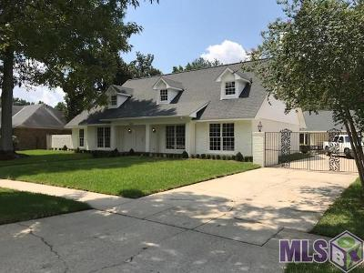 Baton Rouge Single Family Home For Sale: 12131 Lake Ladare Ave