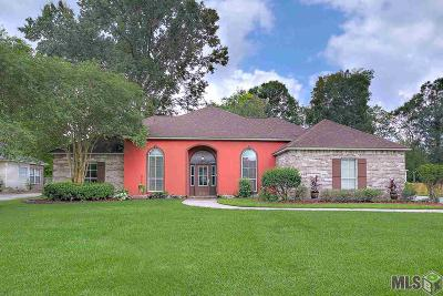 Prairieville Single Family Home For Sale: 36255 The Bluffs Ave