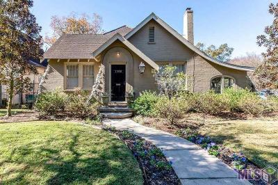 Baton Rouge Single Family Home For Sale: 1102 Park Blvd