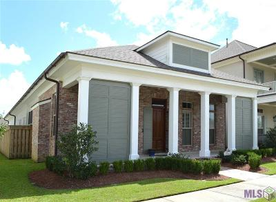 Baton Rouge Single Family Home For Sale: 10835 Sweet Water Dr