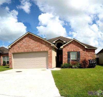 Denham Springs Single Family Home For Sale: 11437 Ashwood Ct