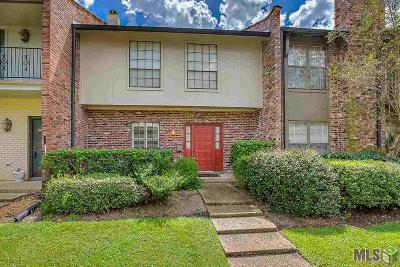 Baton Rouge Condo/Townhouse For Sale: 2069 W Magna Carta Pl