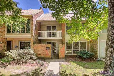 Baton Rouge Condo/Townhouse For Sale: 2242 Stonehenge Ave