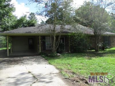Denham Springs Single Family Home For Sale: 1680 Starlite Dr