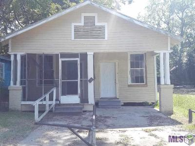 Baton Rouge Single Family Home For Sale: 1734 Wisteria St