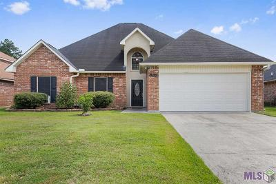 Denham Springs Single Family Home For Sale: 23928 Rosemont Ave
