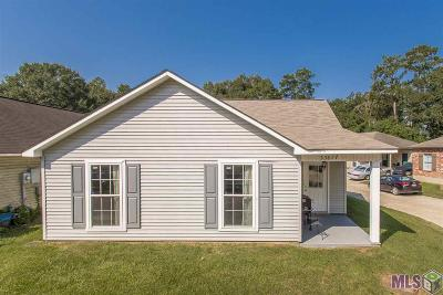 Denham Springs Single Family Home For Sale: 33877 Cedar Ridge Ct