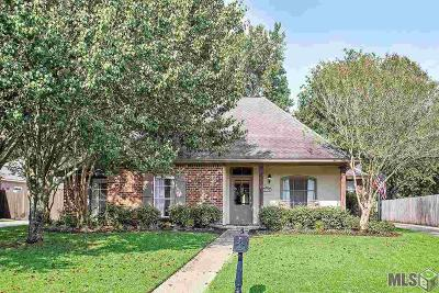 Prairieville Single Family Home For Sale: 18478 Plantation Blvd