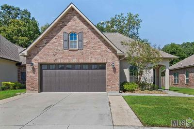 Prairieville Single Family Home For Sale: 37204 Corvette Dr