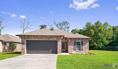 Denham Springs Single Family Home For Sale: 11617 Mary Lee Dr