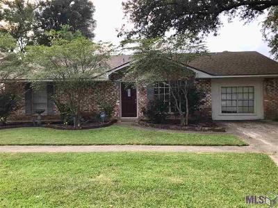 Baton Rouge LA Single Family Home For Sale: $177,000
