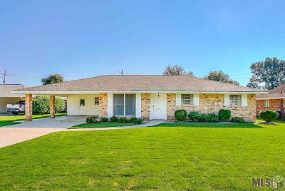 Baton Rouge Single Family Home For Sale: 1089 S Burgess Dr