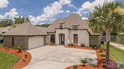 Denham Springs Single Family Home For Sale: 24913 Plantation Lake Ave