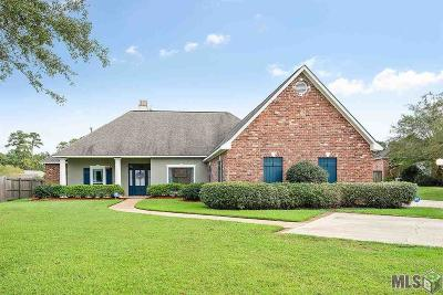 Denham Springs Single Family Home For Sale: 33838 Cypress Bluff Dr