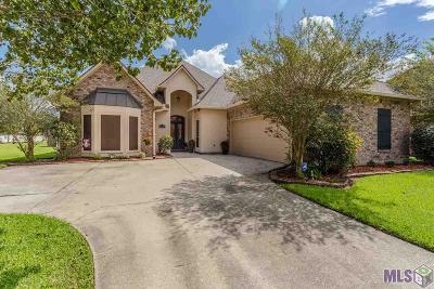 Prairieville Single Family Home For Sale: 13394 W Lakeshore Dr