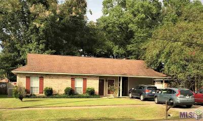 Zachary Single Family Home For Sale: 4077 Cottonwood St