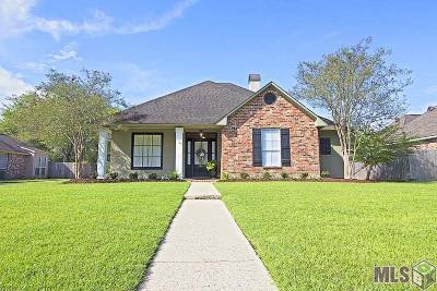 Prairieville Single Family Home For Sale: 18433 Manchac Lake Dr
