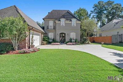 Baton Rouge Single Family Home For Sale: 17939 Pecan Shadows Dr