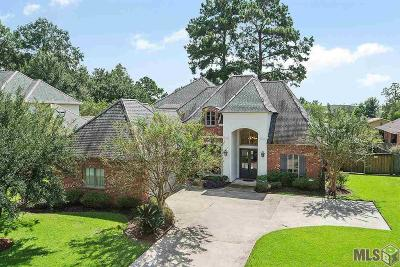 Denham Springs Single Family Home For Sale: 15116 Green Trails Blvd