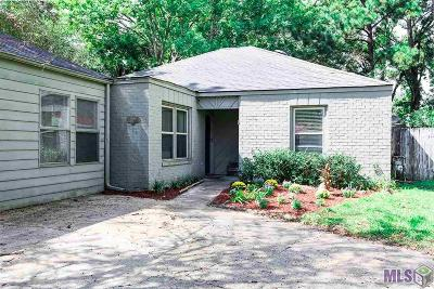 Baton Rouge Single Family Home For Sale: 1123 Woodhue Dr