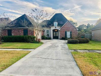 Denham Springs Single Family Home For Sale: 7510 Colonial Dr