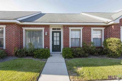 Baton Rouge Condo/Townhouse For Sale: 12500 Old Hammond Hwy #G3