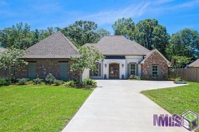 Denham Springs Single Family Home For Sale: 30772 Barnett Ln