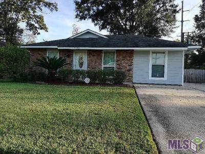 Baton Rouge LA Single Family Home For Sale: $129,900