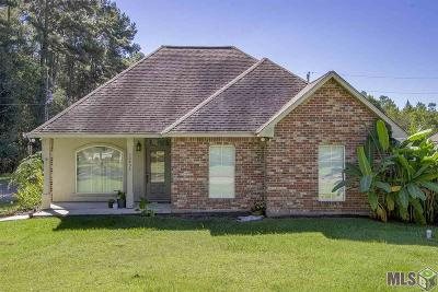 Denham Springs Single Family Home For Sale: 12734 Buddy Ellis Rd