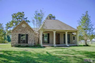 Denham Springs Single Family Home For Sale: 37583 Weiss Rd
