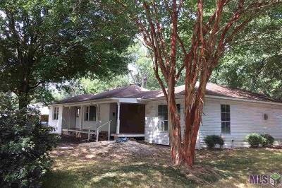 Denham Springs Single Family Home For Sale: 1280 N Woodcrest Ave
