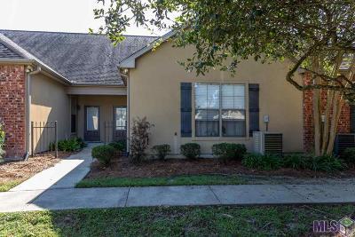 Baton Rouge LA Condo/Townhouse For Sale: $165,000